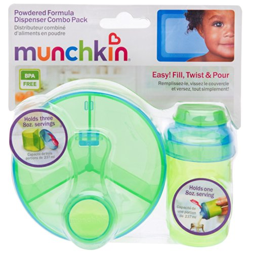 Munchkin Powdered Formula Dispenser, Colors May Vary - 2 Count - 1