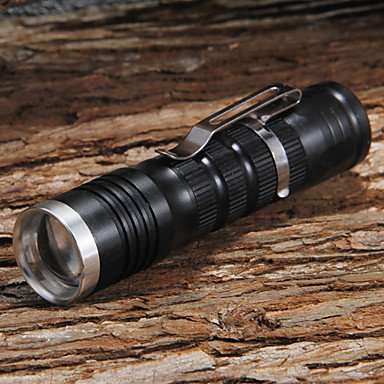 Gg 511 Adjustable Focus 1-Mode 1Xcree Xp-E R2 Led Flashlights(1X14500/2Xaa,500Lm) , Black