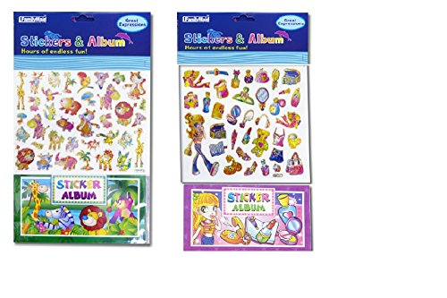 2pk, Sticker & Album for Kids