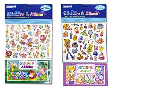 2pk, Sticker & Album for Kids - 1