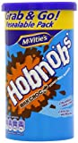 Mcvities Hobnobs Milk Chocolate Nobbly Oaty Biscuits 250 g (Pack of 6)