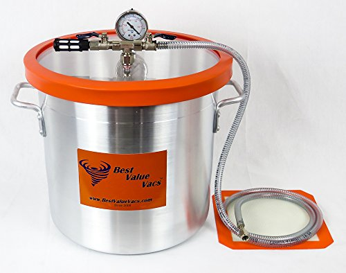 5 Gallon Vacuum Chamber to Degass Urethanes, Silicones and Epoxies