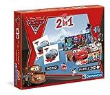 Clementoni 13731.2 Cars 2 - Puzzle y juego de buscar parejas