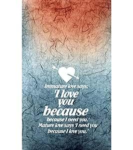 EPICCASE mature love quotes Mobile Back Case Cover For LG G2 (Designer Case)