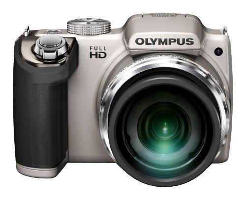 Olympus SP-720UZ Digital Ultra Zoom Camera - Silver (14MP, 26x Wide Optical Zoom) 3 inch LCD