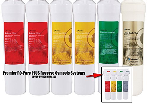 Premier RO-PURE-PLUS Annual Filter Replacement Bundle by Watts Premier (Sediment Filter 105311 compare prices)