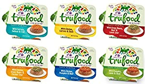 Wellness TruFood Tasty Pairings Grain Free Natural Raw Wet Dog Food Variety Pack, 6 Flavors, 5-Ounce Cup (12 Total Cups)