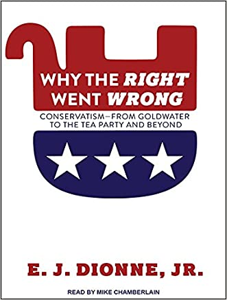 Why the Right Went Wrong: Conservatism From Goldwater to the Tea Party and Beyond written by E. J. Dionne Jr.