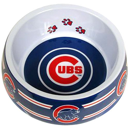 Sporty K9 Chicago Cubs Dog Bowl, Small at Amazon.com