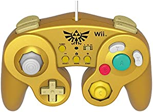 HORI Battle Pad for Wii U (Link Version) with Turbo - Nintendo Wii U