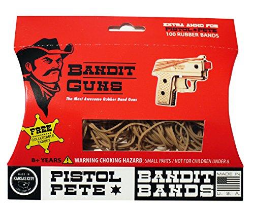 Bandit Guns Pistol Pete Extra Ammo Craft Kit, Tan