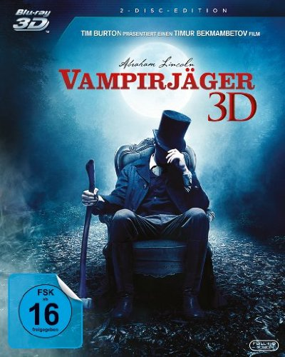 Abraham Lincoln - Vampirjäger (+ Blu-ray)
