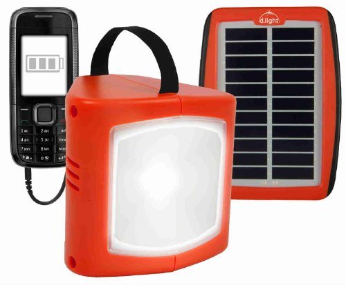 d.light LED Solar Rechargeable #S300 Lantern