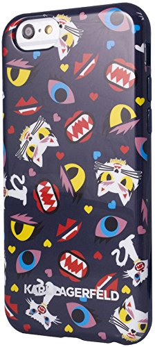 Karl Lagerfeld KLHCP6MCPBL Monster Choupette iPhone 6 BLUE