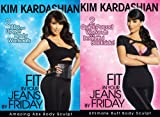 Kim Kardashian Fit in Your Jeans by Friday 2 DVD Pack Amazing Abs and Ultimate Butt Body Sculpt