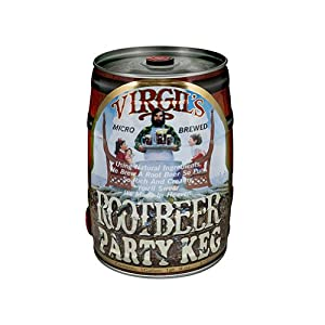 Virgil's rootbeer in 5L kegs available from Amazon.com