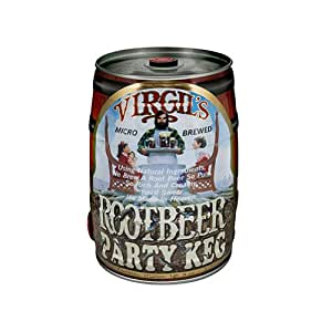 Virgil's Root Beer (2/169 Oz Party Kegs), 5Ltr (Pack of 2)