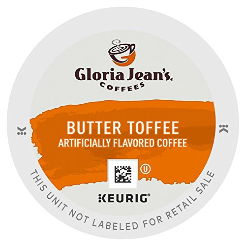 Gloria Jean's Coffees, Butter Toffee, K-Cup Portion Pack for Keurig Brewers 24-Count (K Cup Coffee Toffee compare prices)