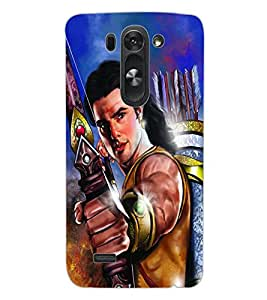 ColourCraft Lord Rama Design Back Case Cover for LG D722K