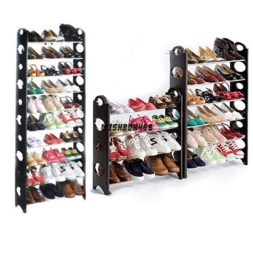 Home Portable Closet Storage Organizer Cabinet Shelf Shoe Rack - 10 Layer (Extra Large Dresser compare prices)