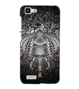 Indian Elephant Graphics Cute Fashion 3D Hard Polycarbonate Designer Back Case Cover for vivo Y27 :: Vivo Y27L