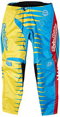 Troy Lee Men's GP Joker Pant - Blue/Yellow, Size 28