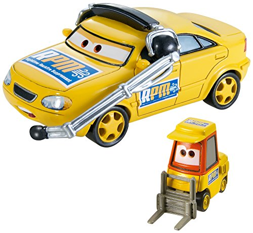Disney/Pixar Cars Collector Die-Cast Vehicle (2-Pack), Chief RPM and Petrol Pulaski - 1