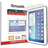 "iSmooth Samsung Galaxy Tab 3 10.1"" Ultra Clear Premium HD Screen Protector 2 Pack"