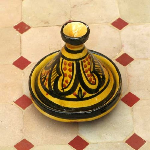 Moroccan Handmade Safi Yellow Spicer