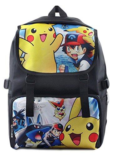 BSBL-Nueva-mochila-impermeable-Pokemon-Pikachu-del-anime-Bolsa-para-la-escuela-Chico-Las-nias-Eevee-estudiantiles-bolsos-30-16-45cm