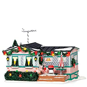 #!Cheap Department 56 Snow Village Lot 57, Christmas Court