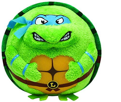 Ty Beanie Ballz Leonardo Mask, Medium/Blue - 1