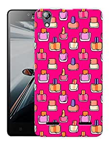 """Humor Gang Nail Paint Girl Life Printed Designer Mobile Back Cover For """"Lenovo A6000 - A6000 PLUS"""" (3D, Matte Finish, Premium Quality, Protective Snap On Slim Hard Phone Case, Multi Color)"""