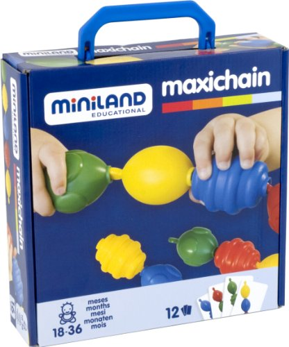 Miniland Interlocking Pieces - 16 Pieces - 1