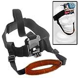 ST-90 Head Helmet Belt Mount Strap for GoPro HD Hero 2 / 3