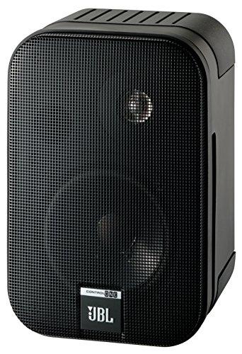 JBL-Control-One-Robuster-Kompakter-Regallautsprecher-Satellitenlautsprecher-Studio-Monitor-Lautsprecher-1-Paar-schwarz