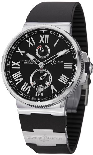 Ulysse Nardin Marine Chronometer Automatic Mens Watch 183-122-3-42