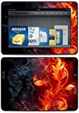 "Kindle Fire HDX 7"" Decal/Skin Kit, Flower of Fire"