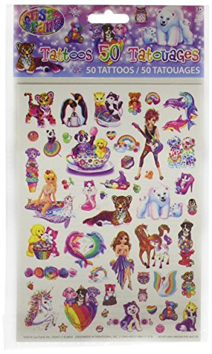 Lisa Frank 50 Temporary Tattoo Collection - 1
