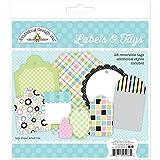 Doodlebug Kitten Smitten Labels & Tags 5286
