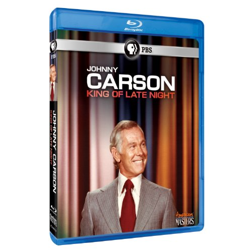 Cover art for  American Masters: Johnny Carson: King of Late [Blu-ray]
