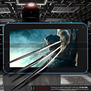 ProntoTec 7 Inch Capacitive Touch Screen Tablet Pc, Dual Core 1.2 GHz, Android 4.2.2, 4GB, Ddr3 512MB Ram, Dual Camera, Wi-fi, G-sensor(blue)
