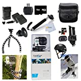 GoPro HERO3: White Edition Adventure Package with Arm Mount + Flat Surface Mount + Everything You Need To Start