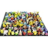 BIGOCT Pokemon Miniature Action Figure (144 Piece)