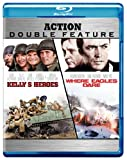Cover art for  Kelly&#039;s Heroes / Where Eagles Dare (Action Double Feature) [Blu-ray]