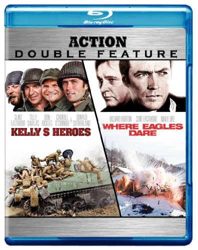 Cover art for  Kelly's Heroes / Where Eagles Dare (Action Double Feature) [Blu-ray]