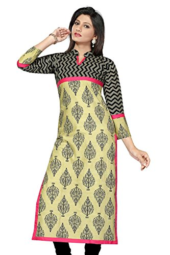 Long Printed Pakistani Kurtis(Large)