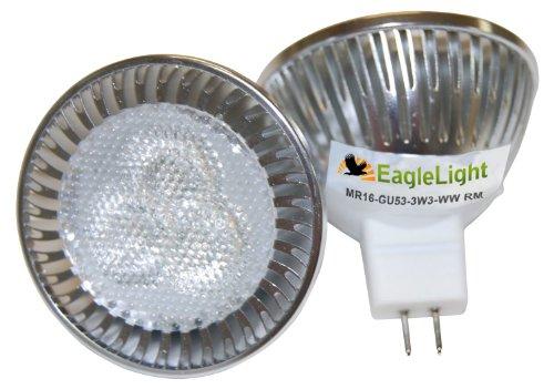 Led Spot Light 3-Watt High Brightness Cree Led Mr16 -30-35 Watt Replacement Bulb.Non Dimmable) Color: Natural White