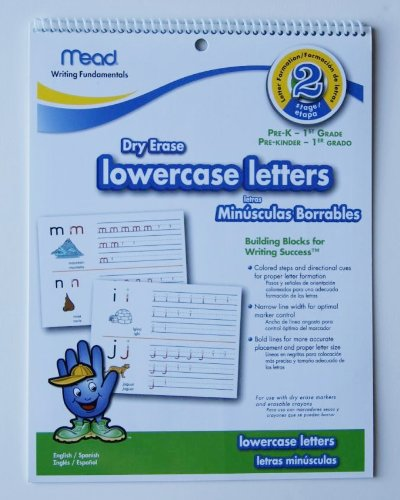 Write-On Wipe-Off lowercase letters Pre-K - 1st Grade - 1