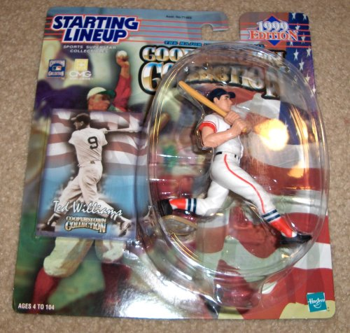 1999 Ted Williams MLB Cooperstown Collection Starting Lineup Figure